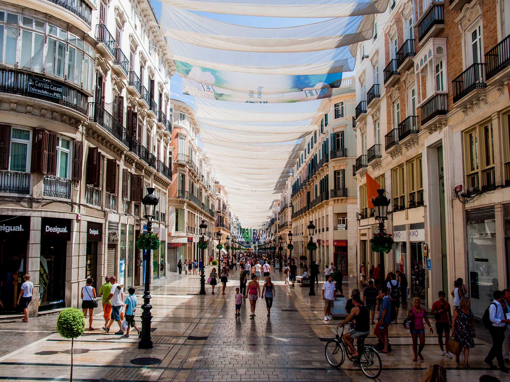 Málaga. A city that embrace you.